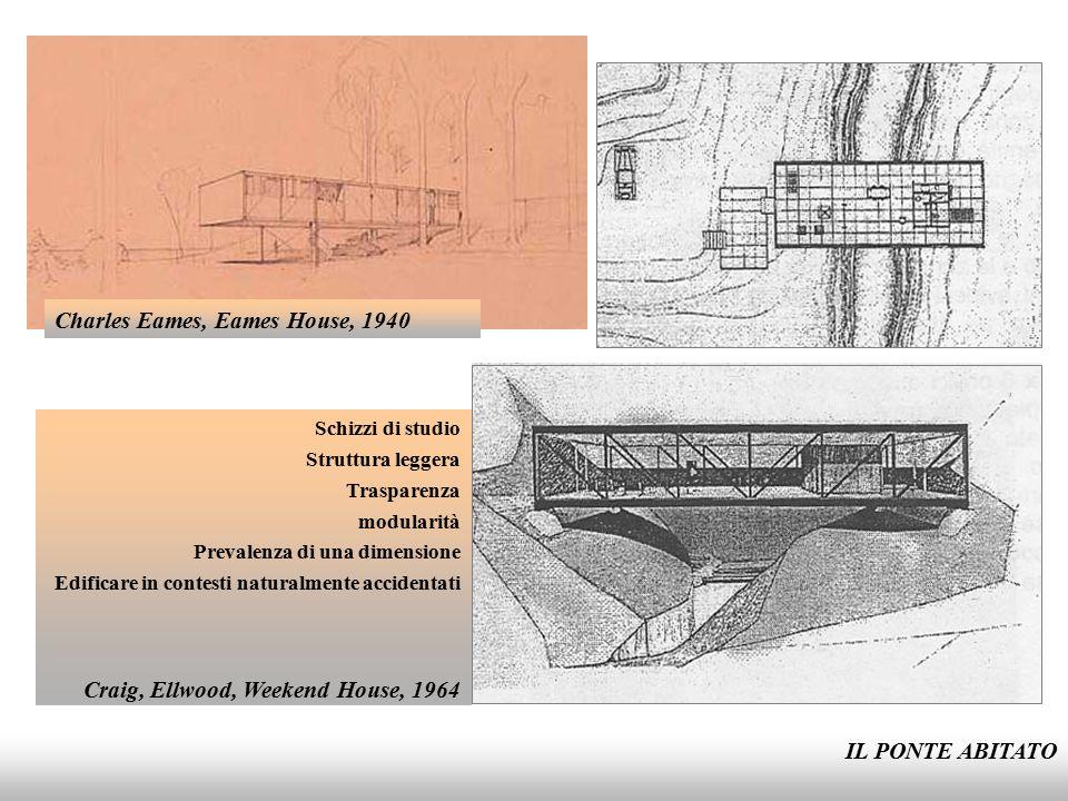 IL PONTE ABITATO Mies Van Der Rohe, Casa Farnsworth, 1946- 1951 Abitazione, ambiente, struttura