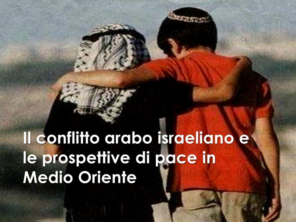 I TEMI AFFRONTATI 1.La ricostruzione storica della questione palestinese 2.Le guerre arabo israeliane 3.Gli accordi e i tentativi di pace 4.La questione dei profughi e la vita nei territori occupati 5.I problemi irrisolti e il futuro della pace tra arabi e israeliani