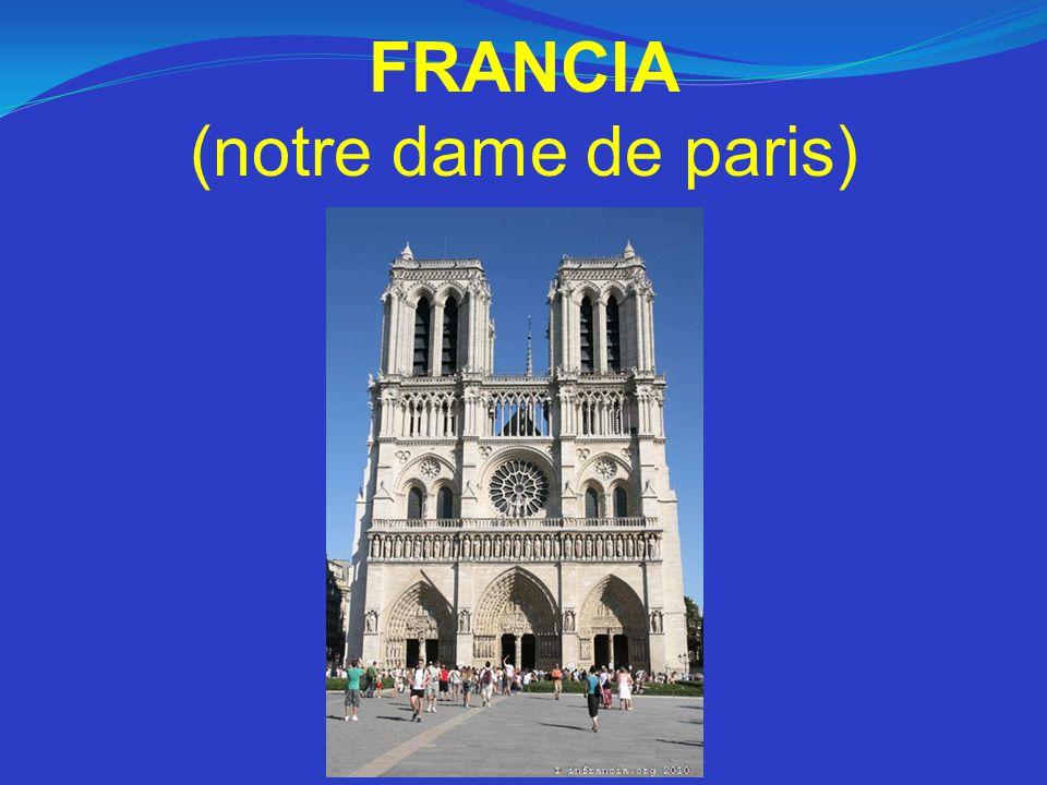 FRANCIA (notre dame de paris)