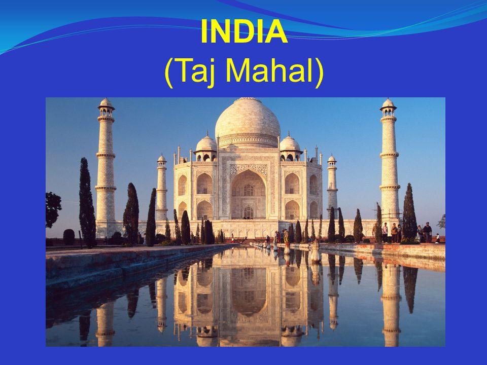 INDIA (Taj Mahal)