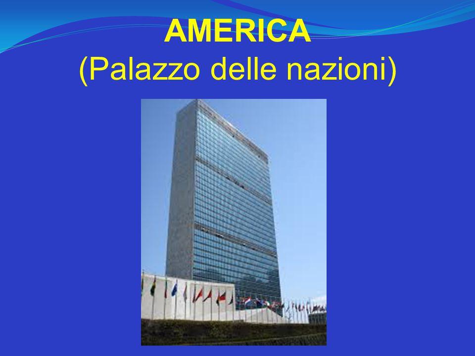 AMERICA (Palazzo delle nazioni)