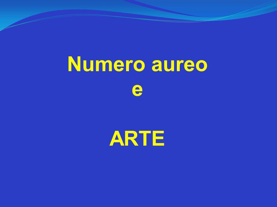Numero aureo e ARTE