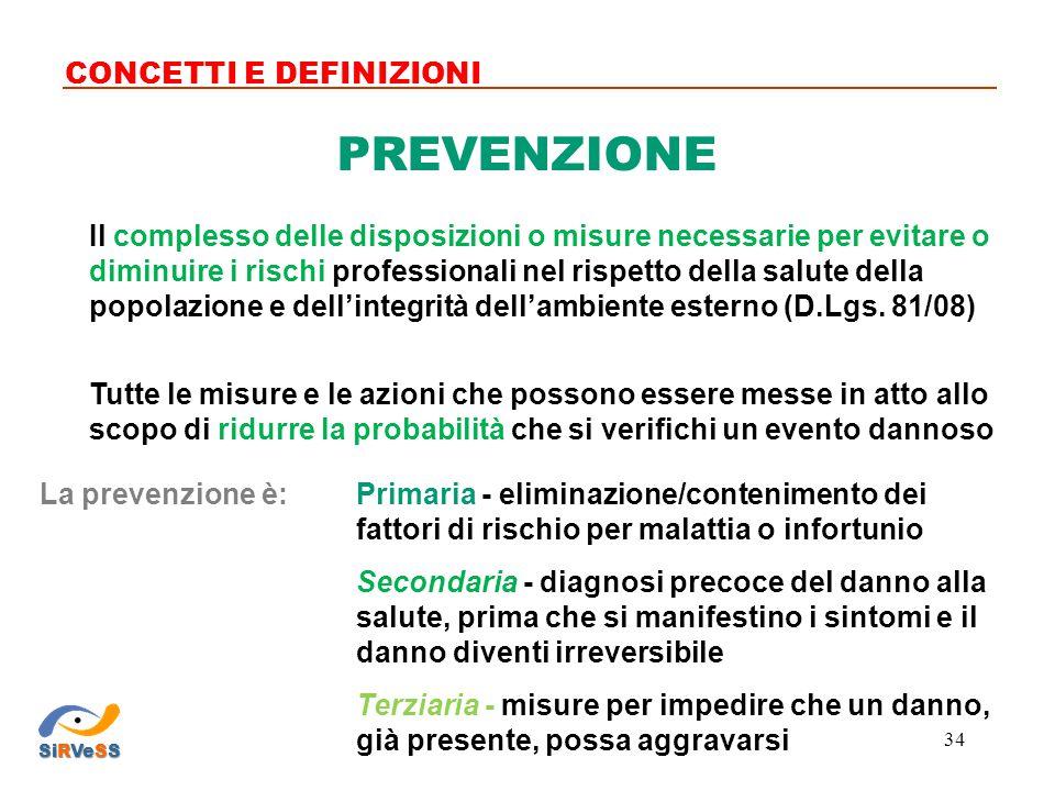 Il complesso delle disposizioni o misure necessarie per evitare o diminuire i rischi professionali nel rispetto della salute della popolazione e dell'