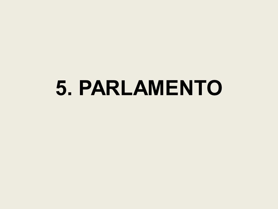 5. PARLAMENTO