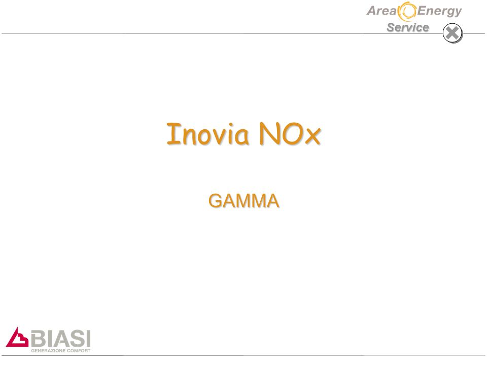 Service Inovia NOx GAMMA