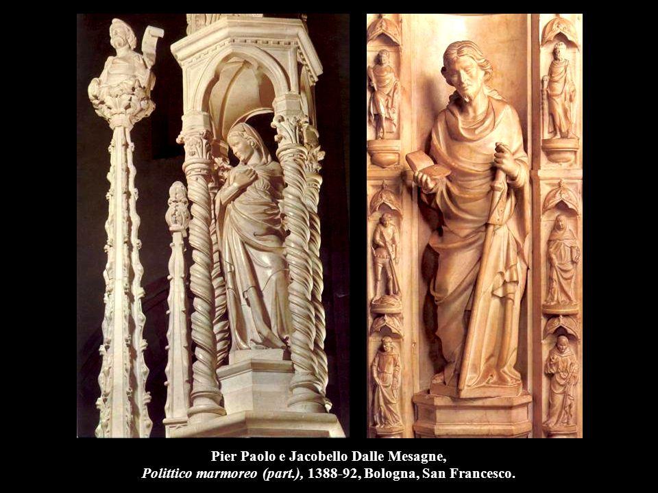 Nanni di Banco Assunzione della Vergine, 1414-21, marmo, Firenze, S. Maria del Fiore.