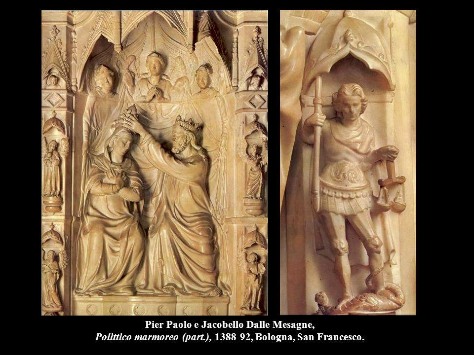 Jacobello Dalle Mesagne, Apostoli (part.), 1394, Venezia, Basilica di San Marco.