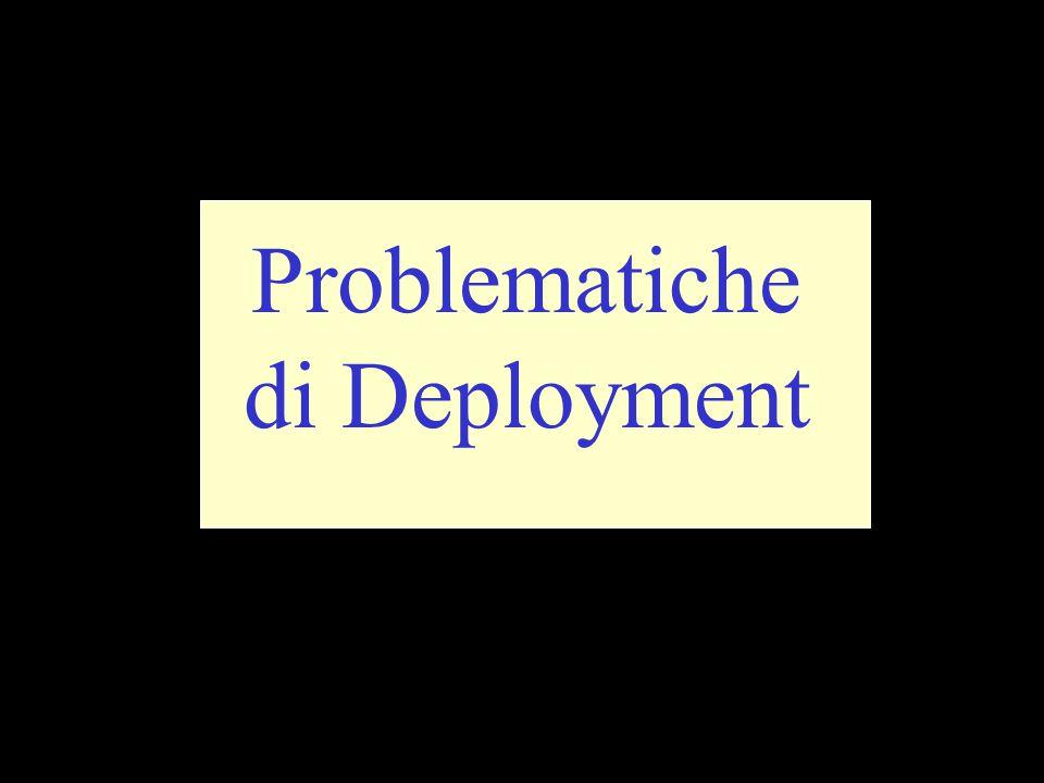 Problematiche di Deployment