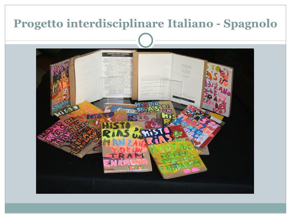 Progetto interdisciplinare Italiano - Spagnolo