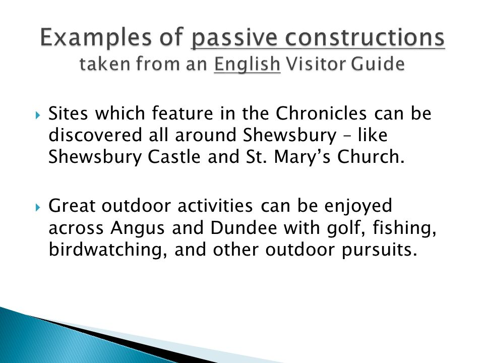  Sites which feature in the Chronicles can be discovered all around Shewsbury – like Shewsbury Castle and St.