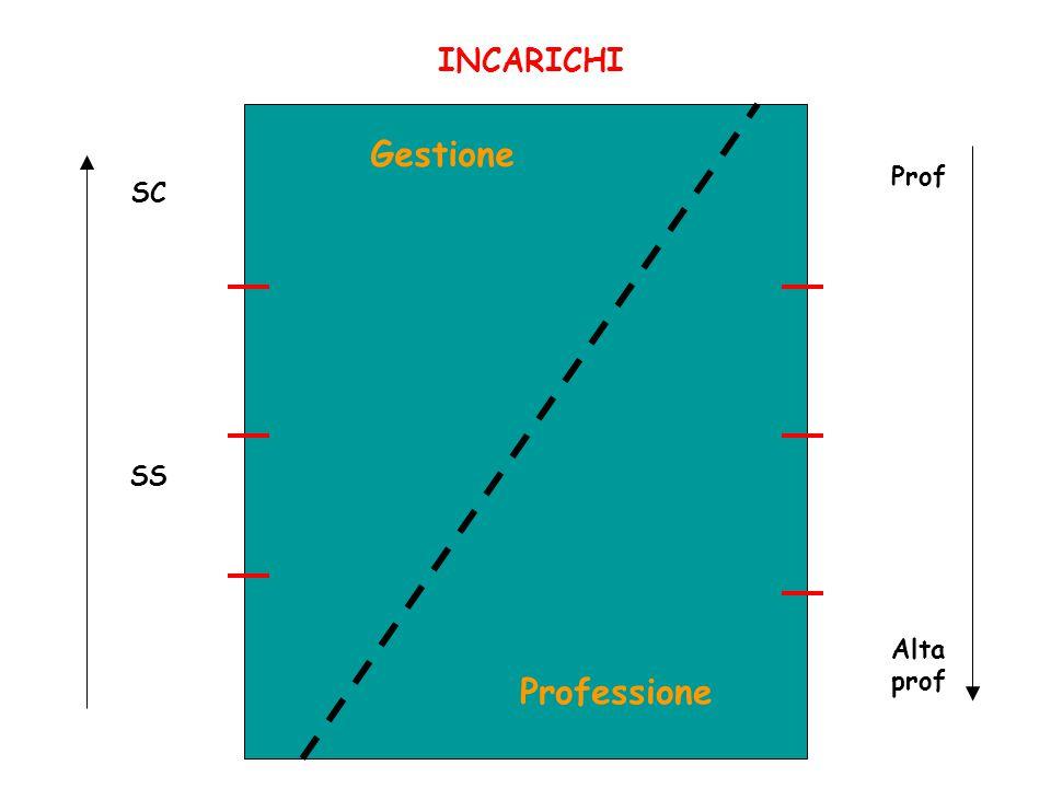 INCARICHI Gestione Professione SC SS Prof Alta prof