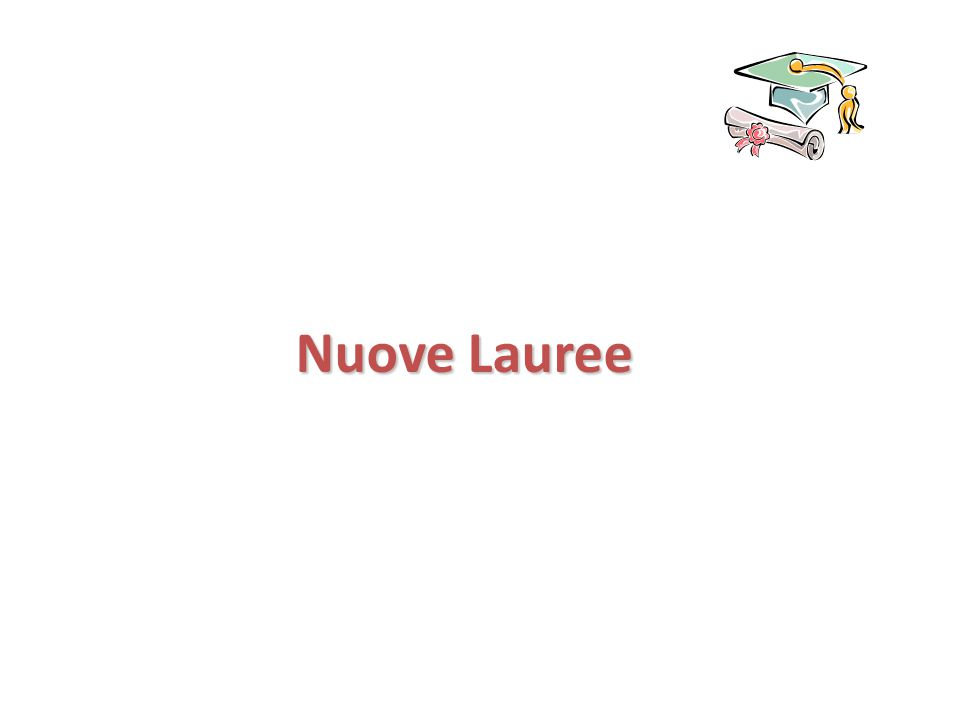 Nuove Lauree