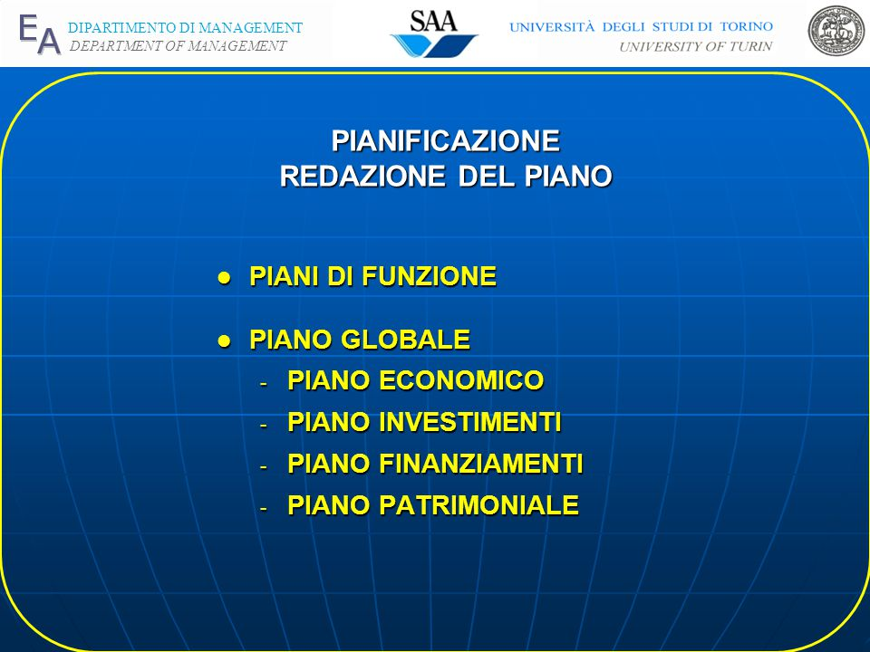 DIPARTIMENTO DI MANAGEMENT DEPARTMENT OF MANAGEMENT PIANIFICAZIONE STRATEGIE FUNZIONALI l STRATEGIE MARKETING - STRATEGIE OFFENSIVE (INTRODUZIONE) - S