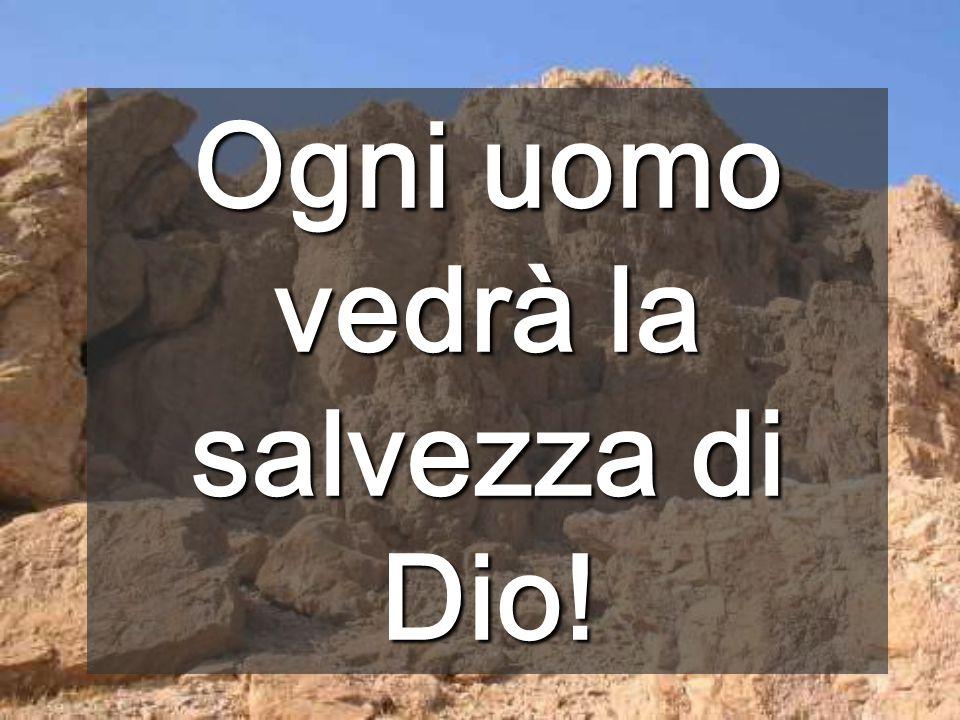 Dacci, Signore, la fede che abbassa le montagne e apre la via alla vita (Torres i Bages) Tutti dobbiamo avere uguali opportunità