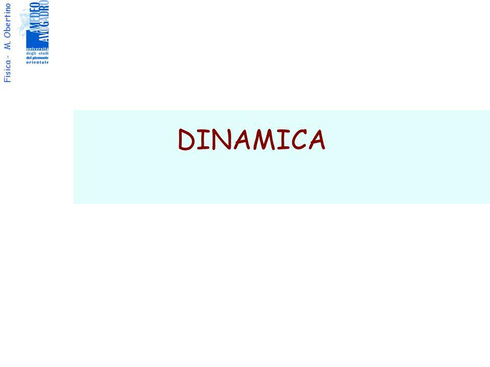 Fisica - M. Obertino DINAMICA