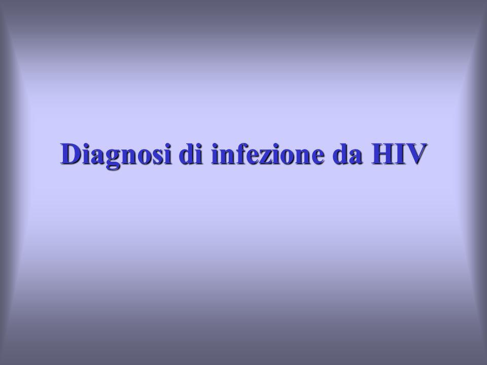 Diagnosi di infezione da HIV