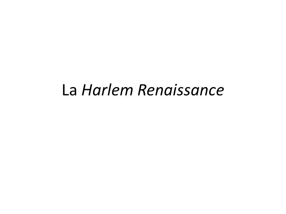 La Harlem Renaissance
