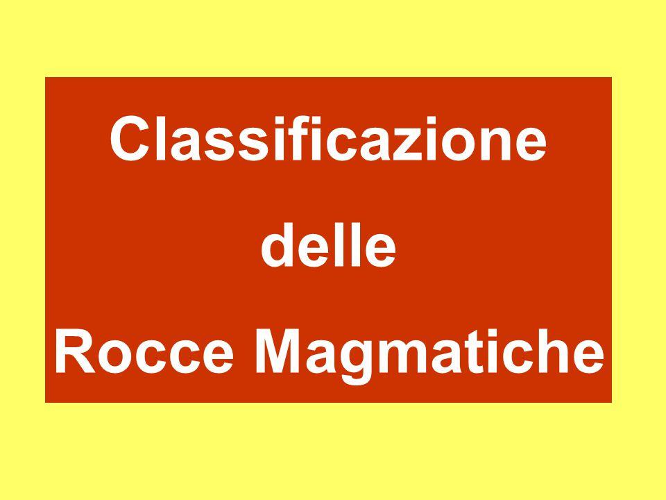 Classificazione delle Rocce Magmatiche