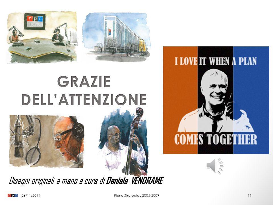 06/11/2014Piano Strategico 2005-200910 5. BIBLIOGRAFIA Commerce, U.