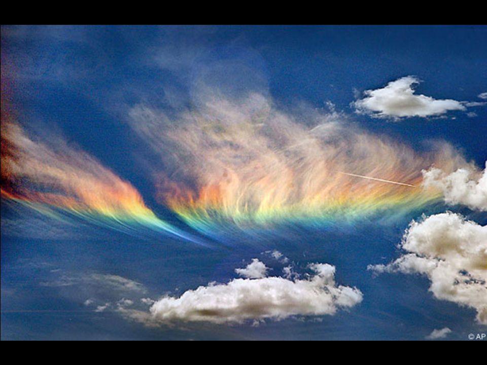 E ora una cosa che forse non hai mai visto: lo chiamano arcobaleno di fuoco di Lorenzo