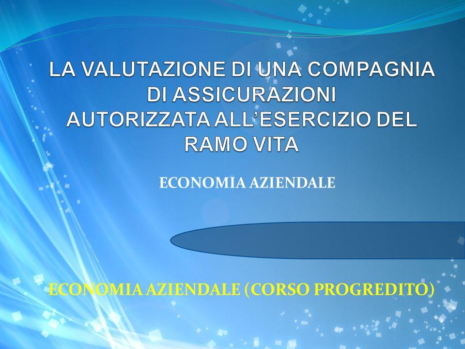 ECONOMIA AZIENDALE (CORSO PROGREDITO) ECONOMIA AZIENDALE 1