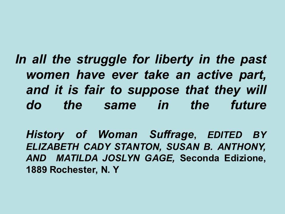 L'età contemporanea è caratterizzata dal farsi politico del discorso sulle donne, e dal farsi politica della critica femminile alla supremazia maschile.