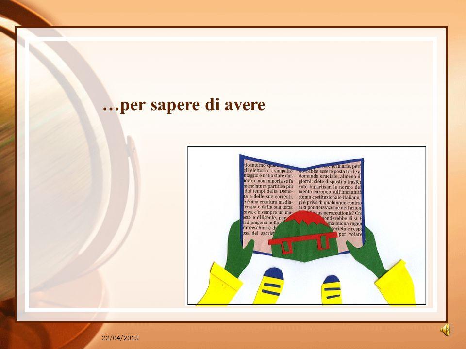 22/04/2015 …Un libro per sapere…