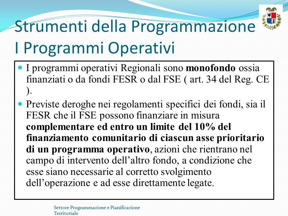 Programmi operativi:POR FESR La Regione Sardegna partecipa all'obiettivo Competitività Regionale e Occupazione beneficiando del sostegno transitorio Phasing in ( art.