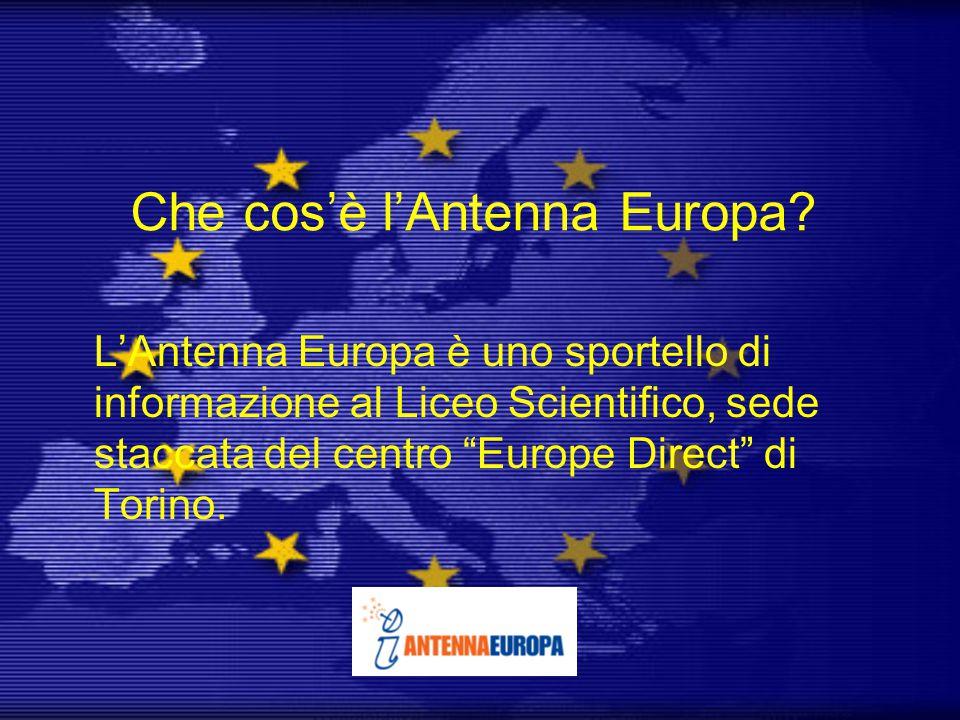 Che cos'è l'Antenna Europa.
