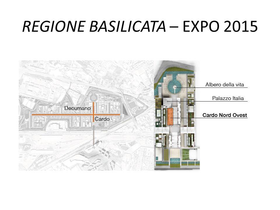 REGIONE BASILICATA – EXPO 2015