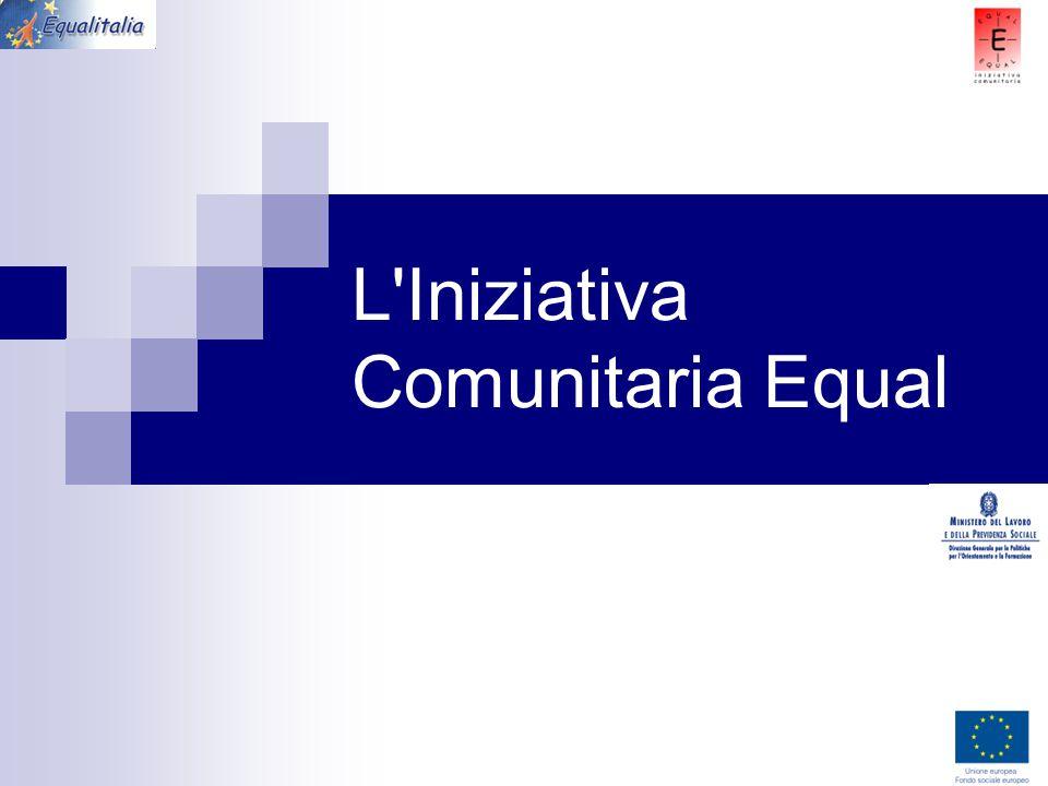 L Iniziativa Comunitaria Equal