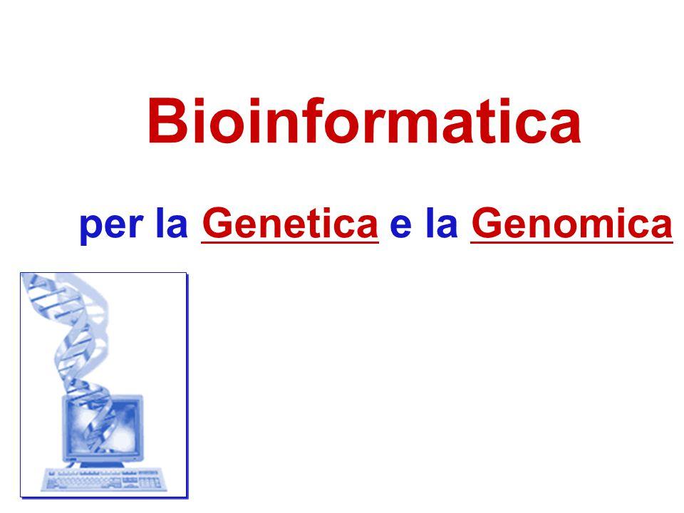 è sufficiente per confrontare genomi???