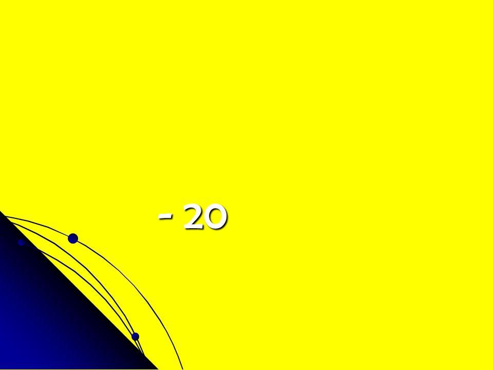- 20 - 20