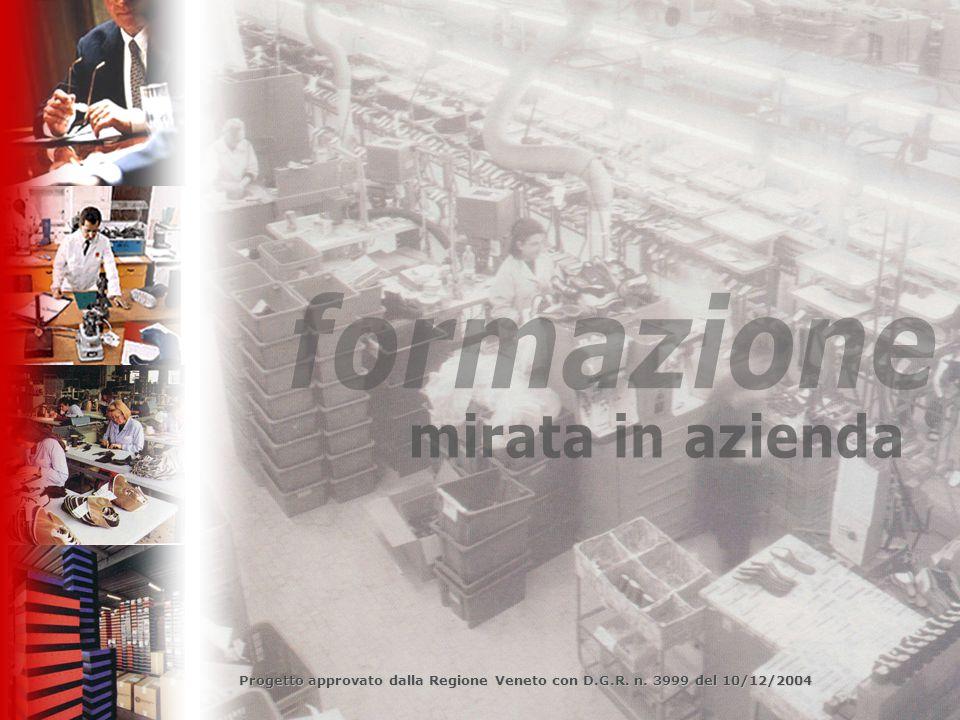 Progetto approvato dalla Regione Veneto con D.G.R. n. 3999 del 10/12/2004