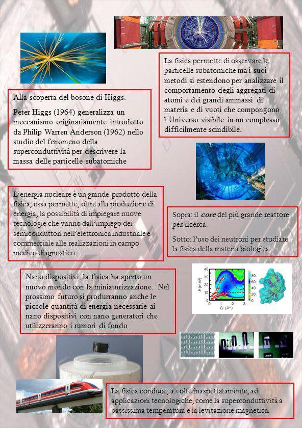 La fisica permette di osservare le particelle subatomiche ma i suoi metodi si estendono per analizzare il comportamento degli aggregati di atomi e dei grandi ammassi di materia e di vuoti che compongono l'Universo visibile in un complesso difficilmente scindibile.
