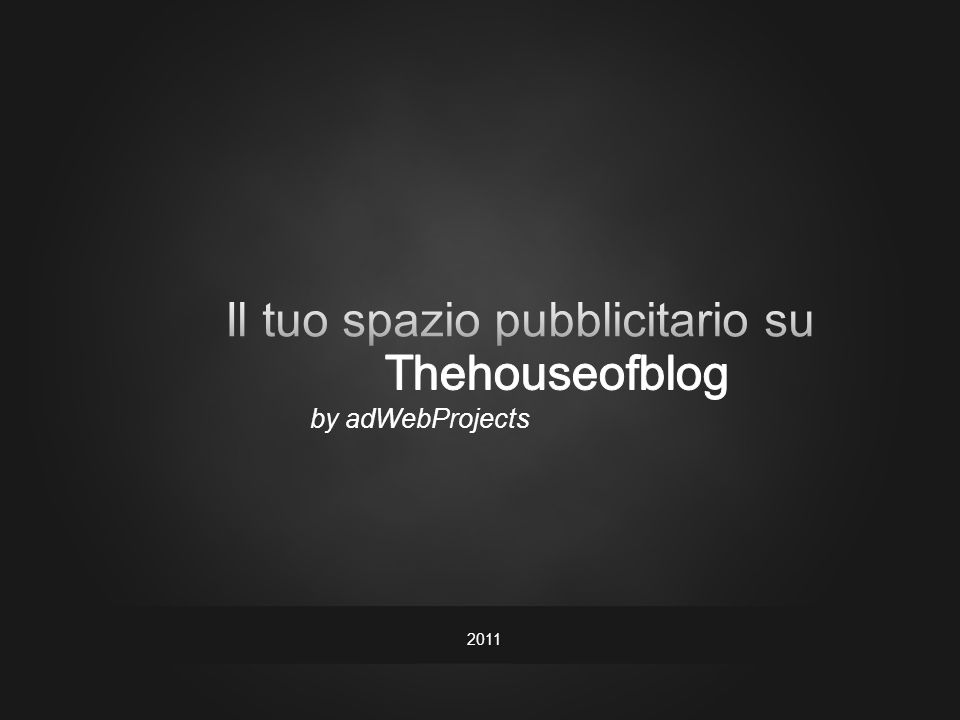 by adWebProjects 2011