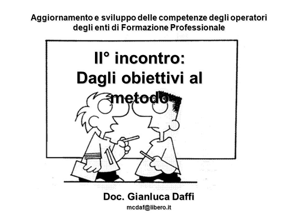 Aggiornamento e sviluppo delle competenze degli operatori degli enti di Formazione Professionale Doc.
