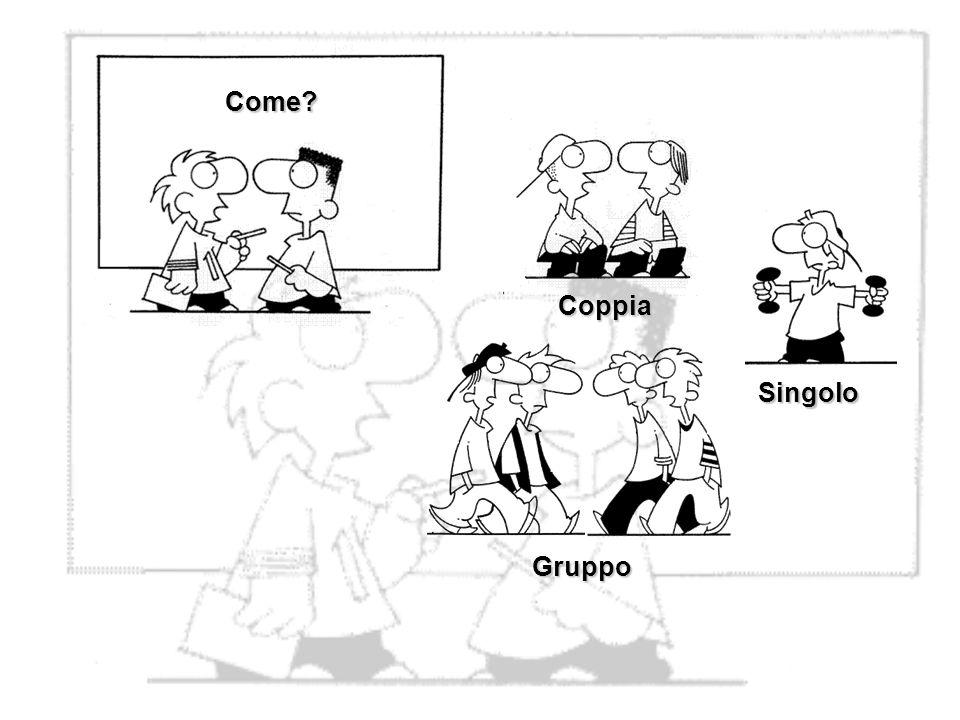 Come Coppia Singolo Gruppo