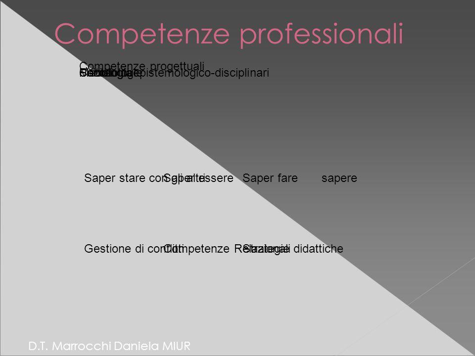 Competenze professionali D.T.