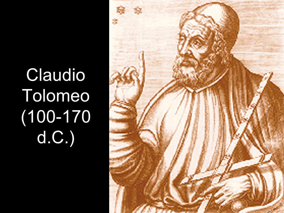 Claudio Tolomeo (100-170 d.C.)
