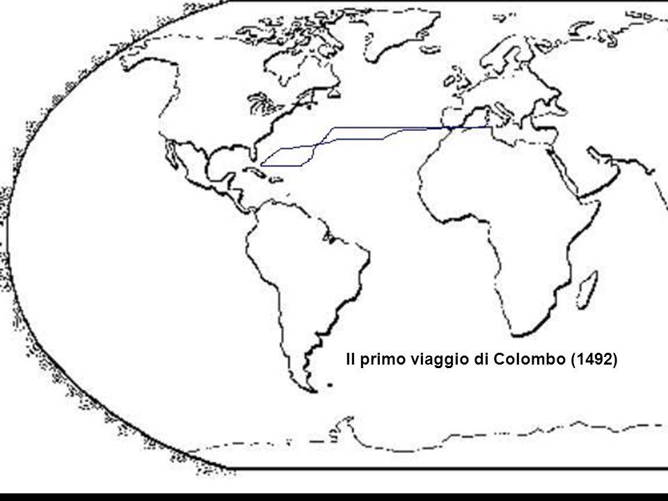 Il primo viaggio di Colombo (1492)
