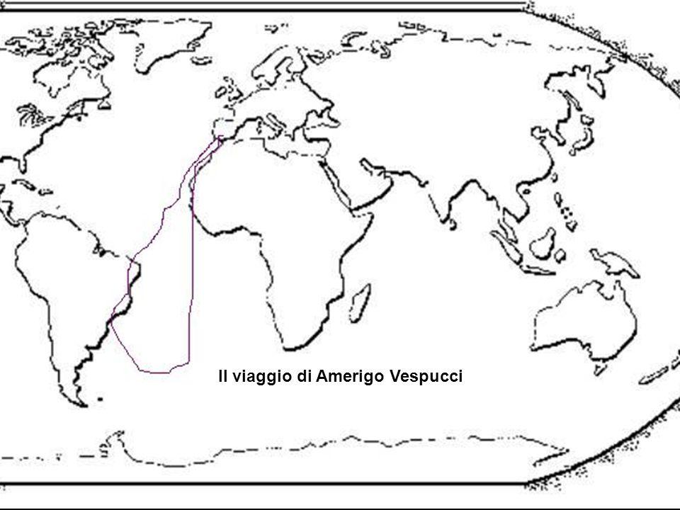 Il viaggio di Amerigo Vespucci