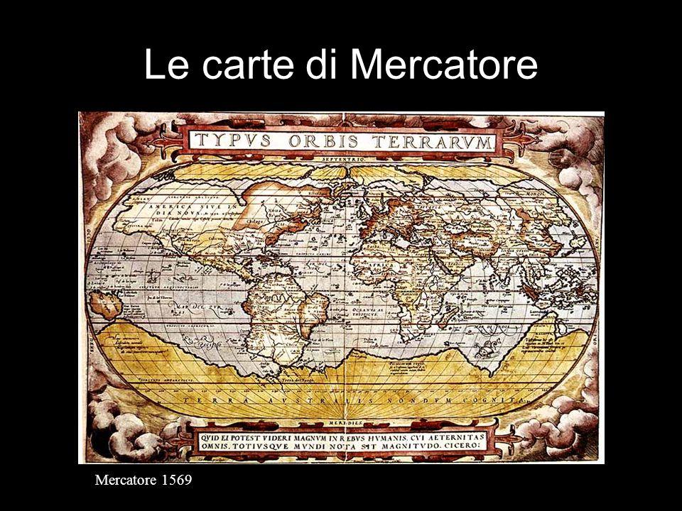 Le carte di Mercatore Mercatore 1569