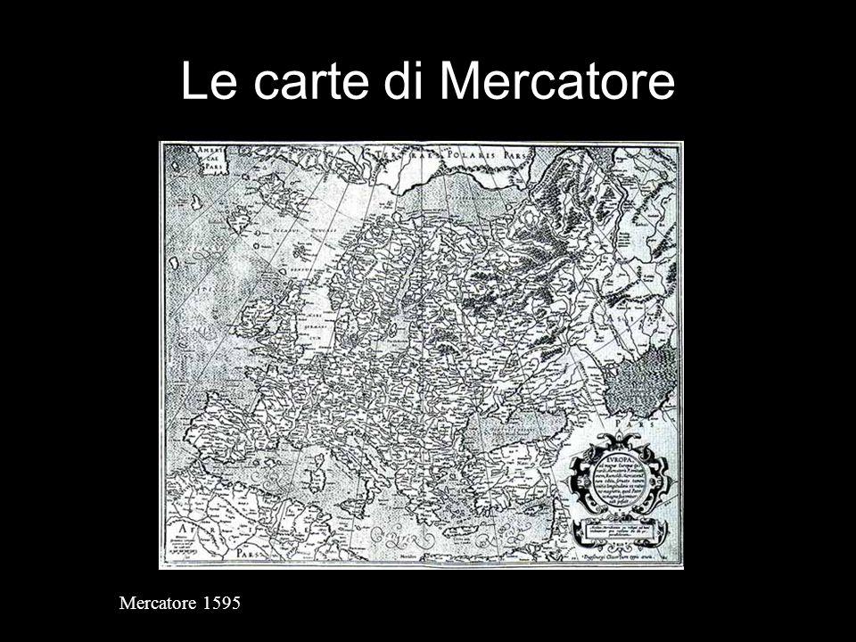 Le carte di Mercatore Mercatore 1595