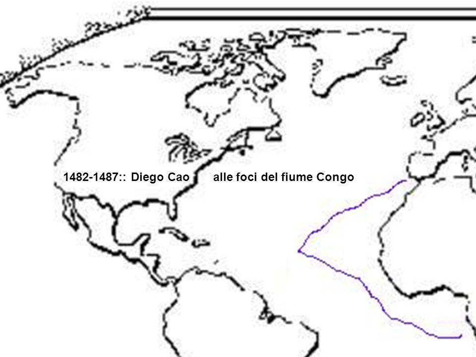 1482-1487:: Diego Cao alle foci del fiume Congo