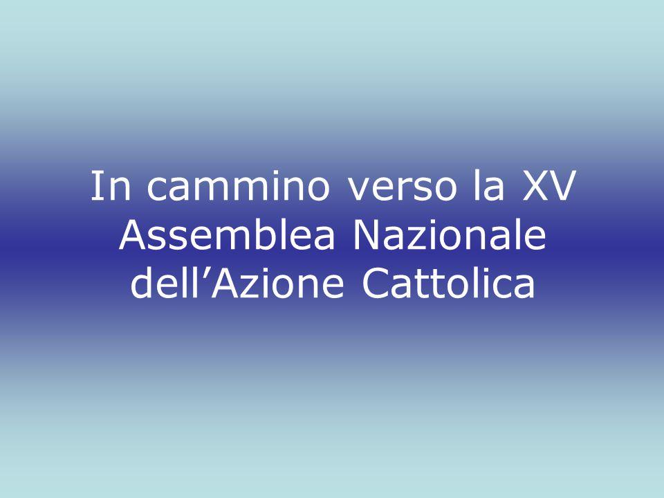 In cammino verso la XV Assemblea Nazionale dell'Azione Cattolica