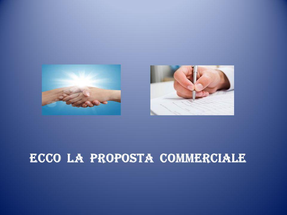 ECCO LA PROPOSTA COMMERCIALE