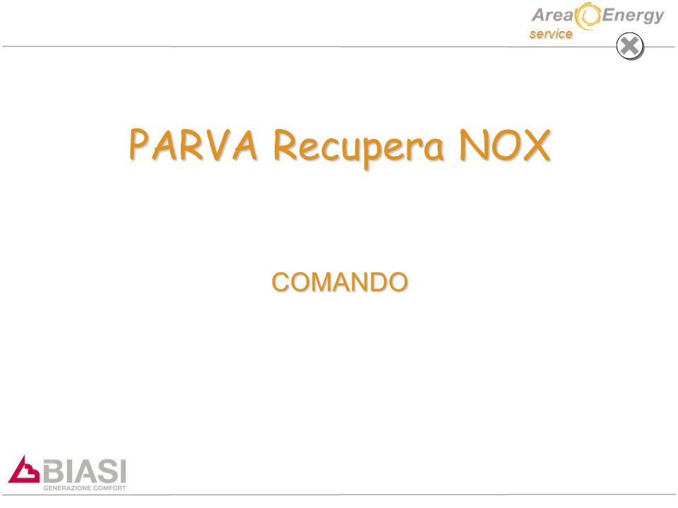 service PARVA Recupera NOX COMANDO