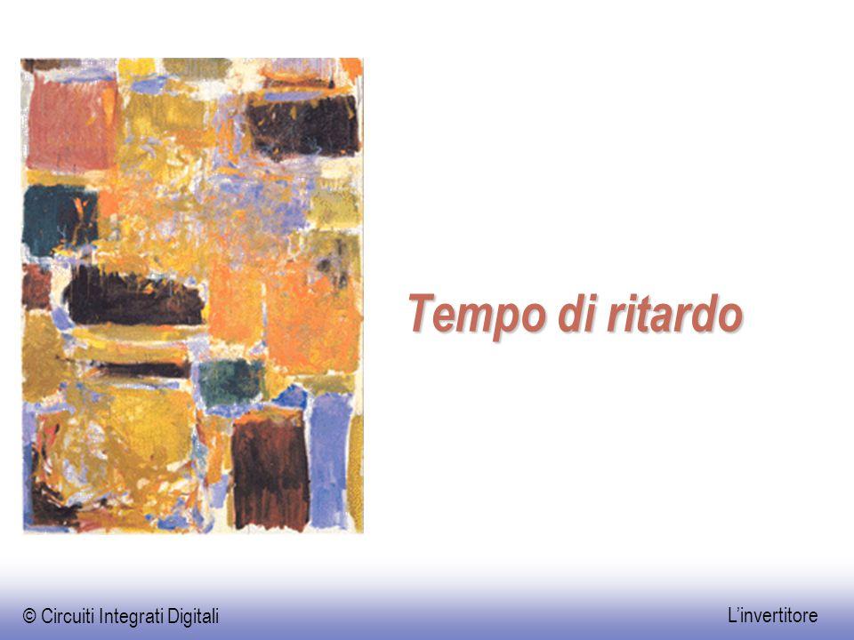 © Circuiti Integrati Digitali L'invertitore Tempo di ritardo