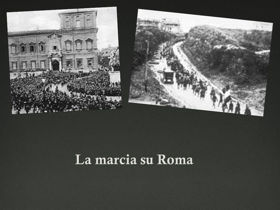 La marcia su RomaLa marcia su Roma